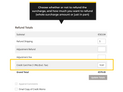 Surcharge options on Magento 2 credit memo (Thumbnail)