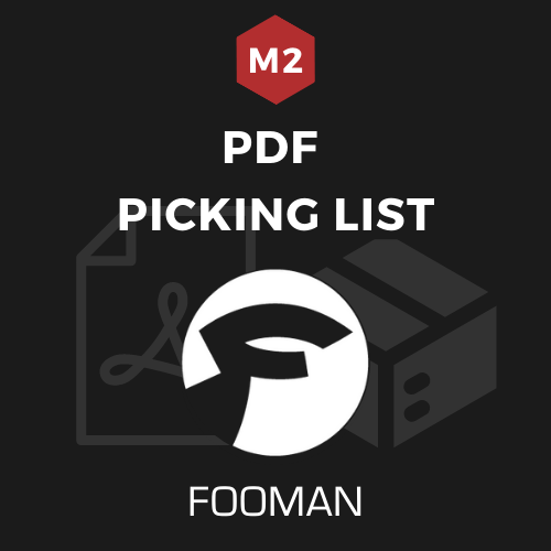 Fooman PDF Picking List (Magento 2)