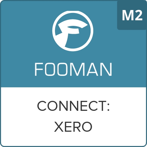 Fooman Connect: Xero (Monthly Service) - Magento 2