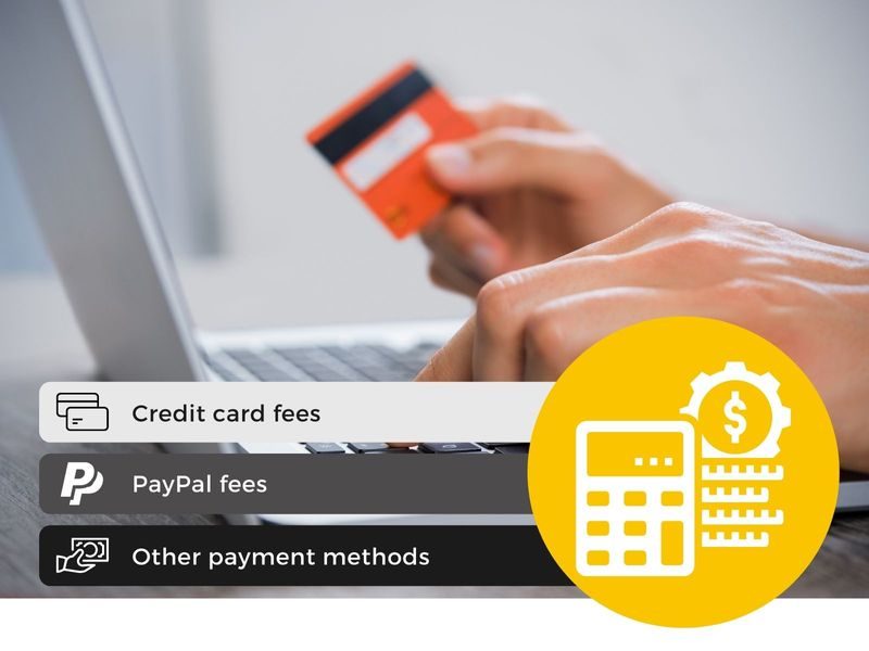 Extra charge for credit card and Paypal payment in Magento 2