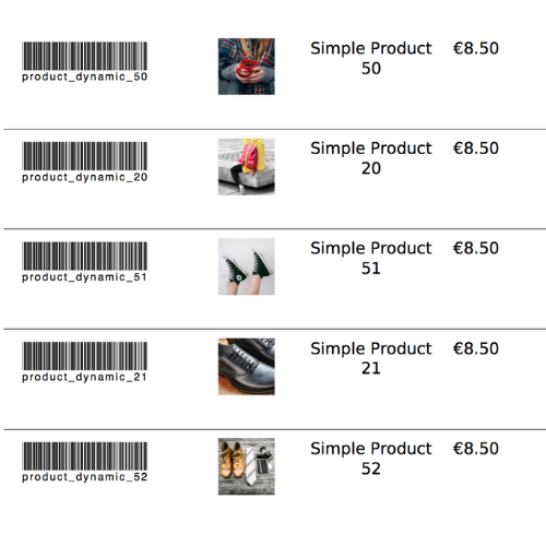 Add product image SKU barcode to Magento pdf