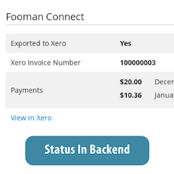 Payments made with Xero Connect Integration can be displayed in your Magento 2 backend