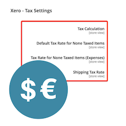 xero-magento-tax-settings
